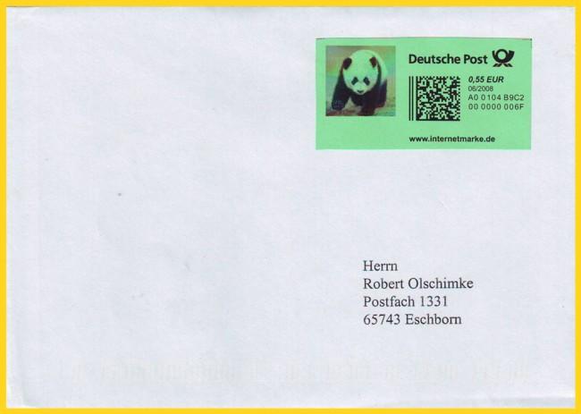 Ein Neues Produkt Bei Der Deutschen Post Die Internetmarke