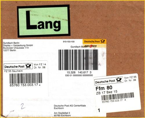 20 Jahre Paketzentren Der Deutschen Post Ag